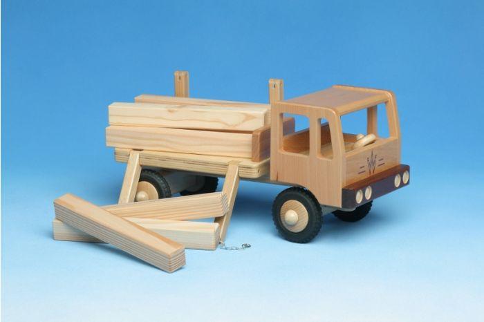 LKW Langholztransporter aus Holz