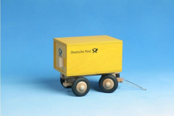 Anhänger Post-Lkw aus Holz