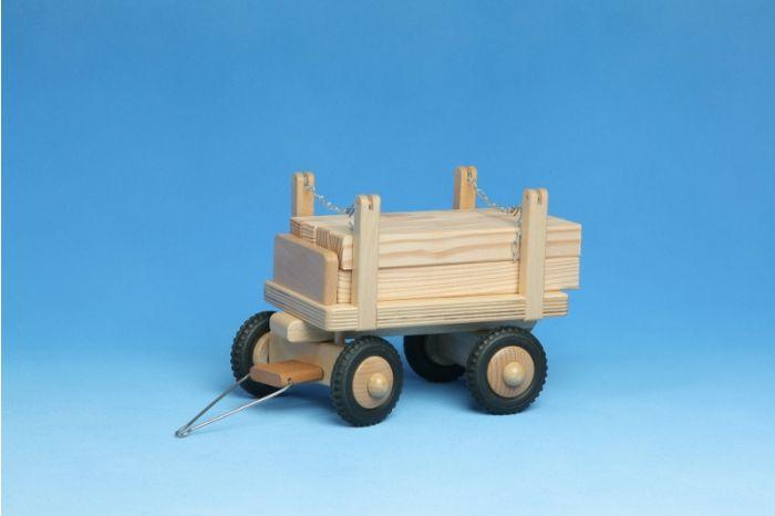 Anhänger Langholz aus Holz