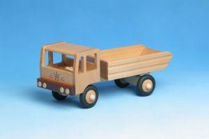 LKW Kipper aus Holz