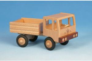 Zugmaschine Kipper (2-achsig) aus Holz