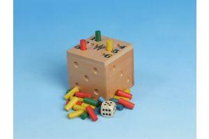 Lustige Sechs - Spielzeug aus Holz