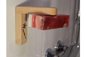 Magnetseifenhalter aus Holz zum Kleben