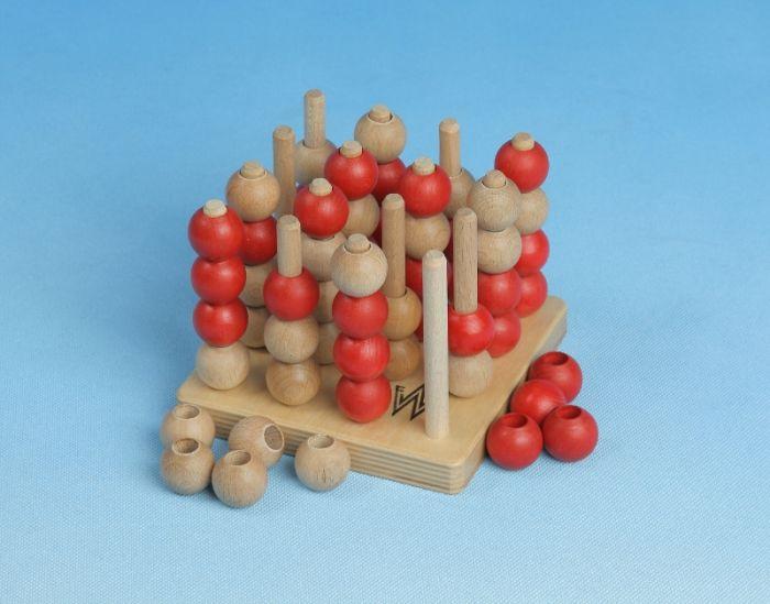 3D-Mühle aus Holz