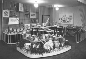 Messestand 1958, Messe Leipzig